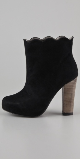 Charlotte Ronson Suede Booties