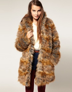 Premium 70s Oversized Faux Fur