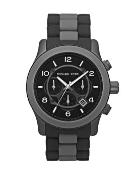 Michael Kors Oversized Silicone Watch