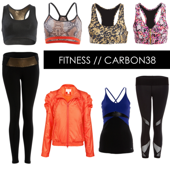fitness fashion // carbon38 // stylekoo